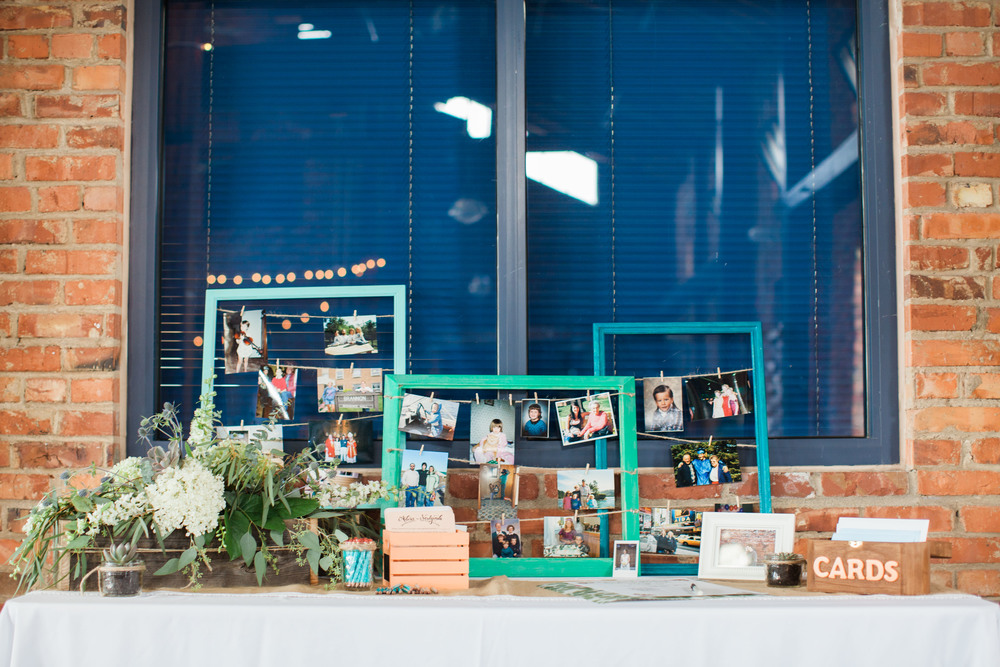 Seattle wedding photographer film photography golden garden gardens state park ocean beach sand grass wind boat house boathouse wedding reception guest table