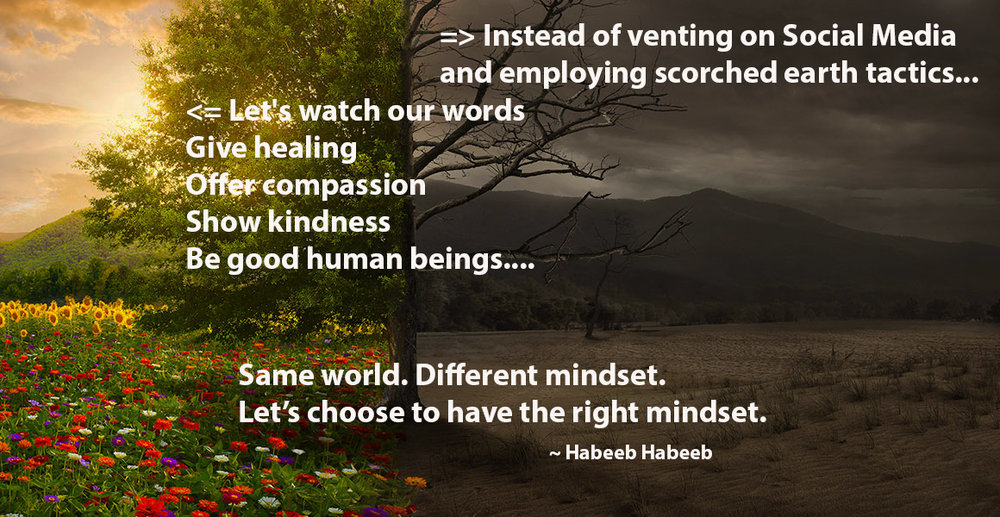Same world. Different mindset HabeebHabeeb.com