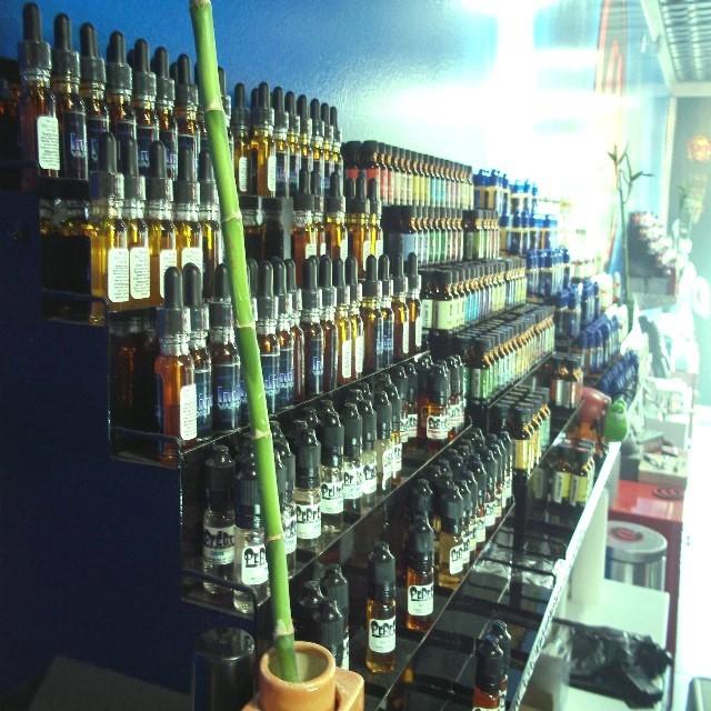 Just some of our premium e-liquid