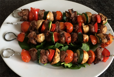 Kebab-skewers
