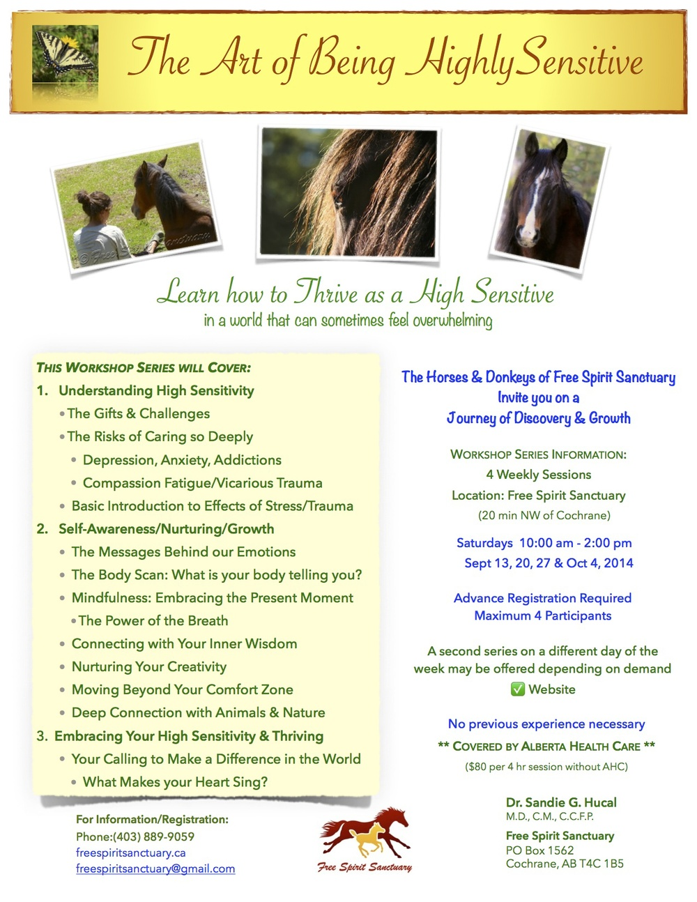 "Prerequisite: ""Introduction to Mindfulness with Horses & Nature"""