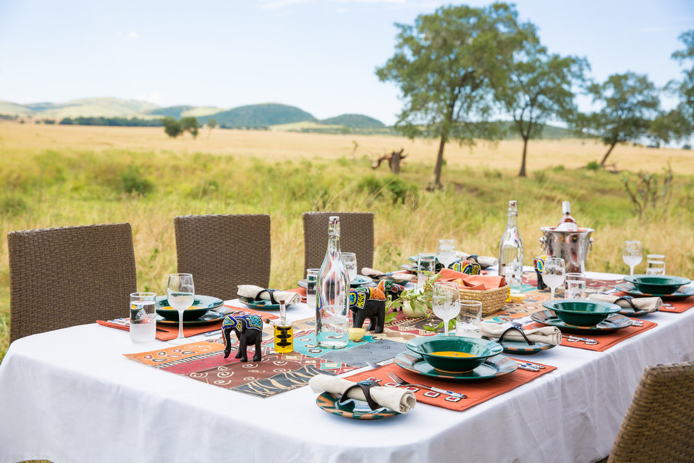 Lunch with beautiful view of the Mara plains.jpg