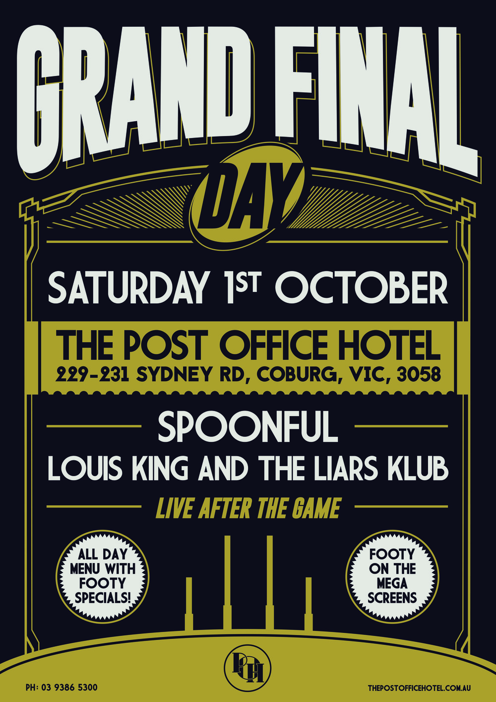 GRAND FINAL DAY @ THE POST OFFICE HOTEL!!