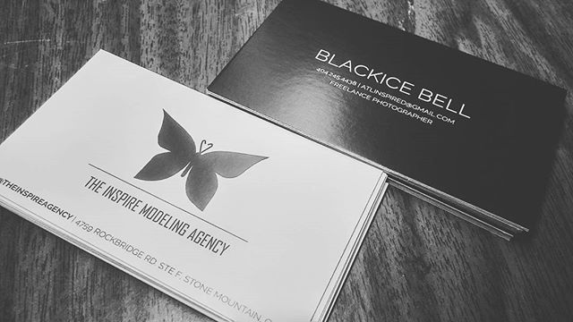 That new new... # design #businesscards #agency #fashion #branding