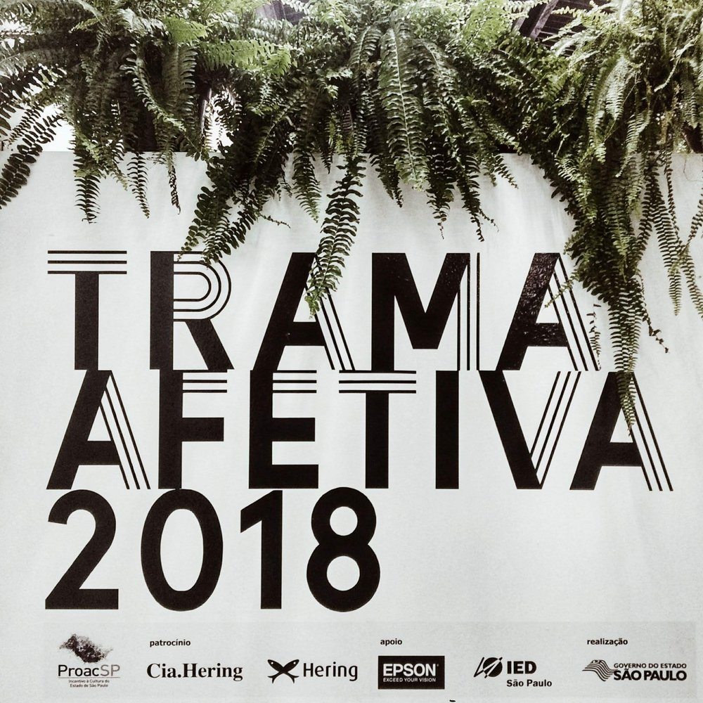 Trama Afetiva 2018 - Fudanção Hermann Hering - Cia Hering