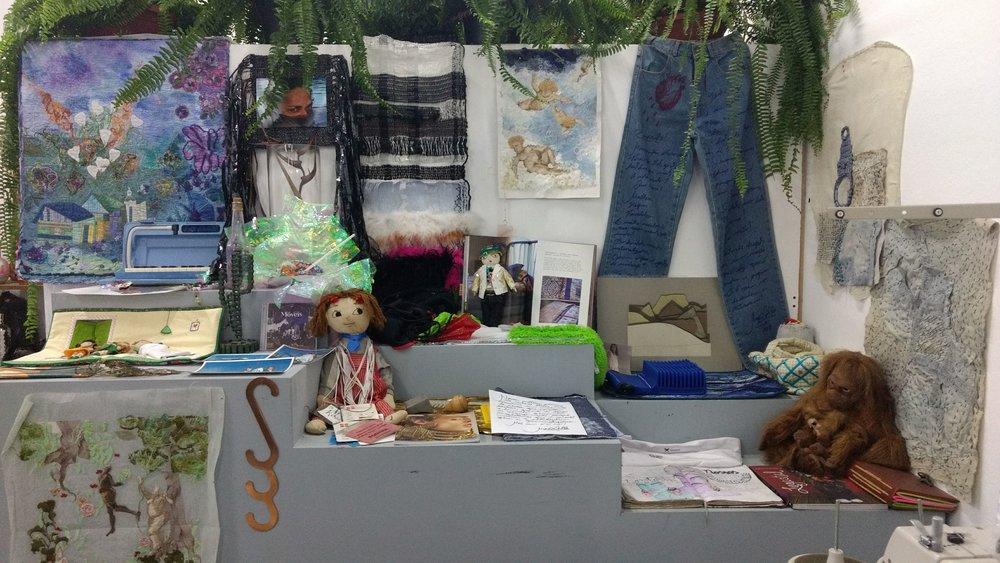 Portfolio Altar de memórias afetivas e profissionais Trama Afetiva