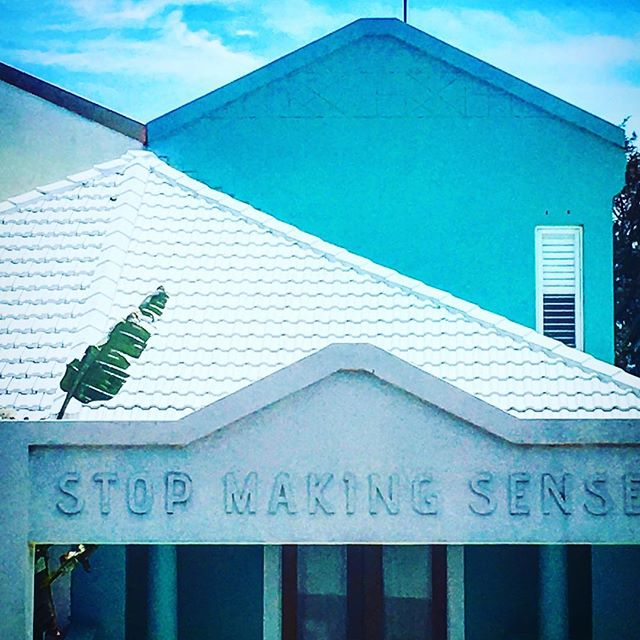 As seen in a bondi neighborhood; Stop Making Sense #bondi #truth #speakyourmind #beach #mermaidsarereal
