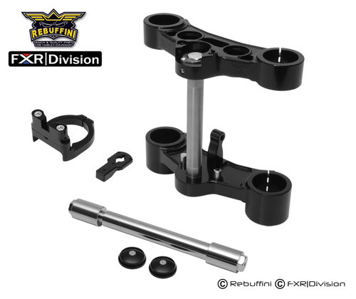 FXR Division/Rebuffini Inverted Trees w/ Scotts Steering Stabilizer ...