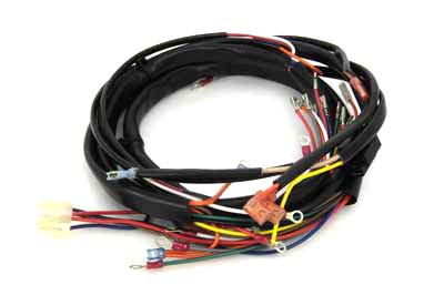 Main Wire Harness Softail on main door, main switch, handlebar harness, main fuse, main relay, main circuit breaker, ignition coil harness, main seal, main frame, main spring,