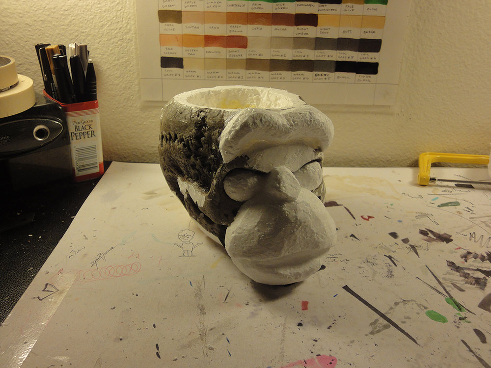 Monkey Skull Cup Process