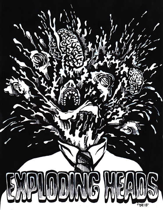Exploding Heads
