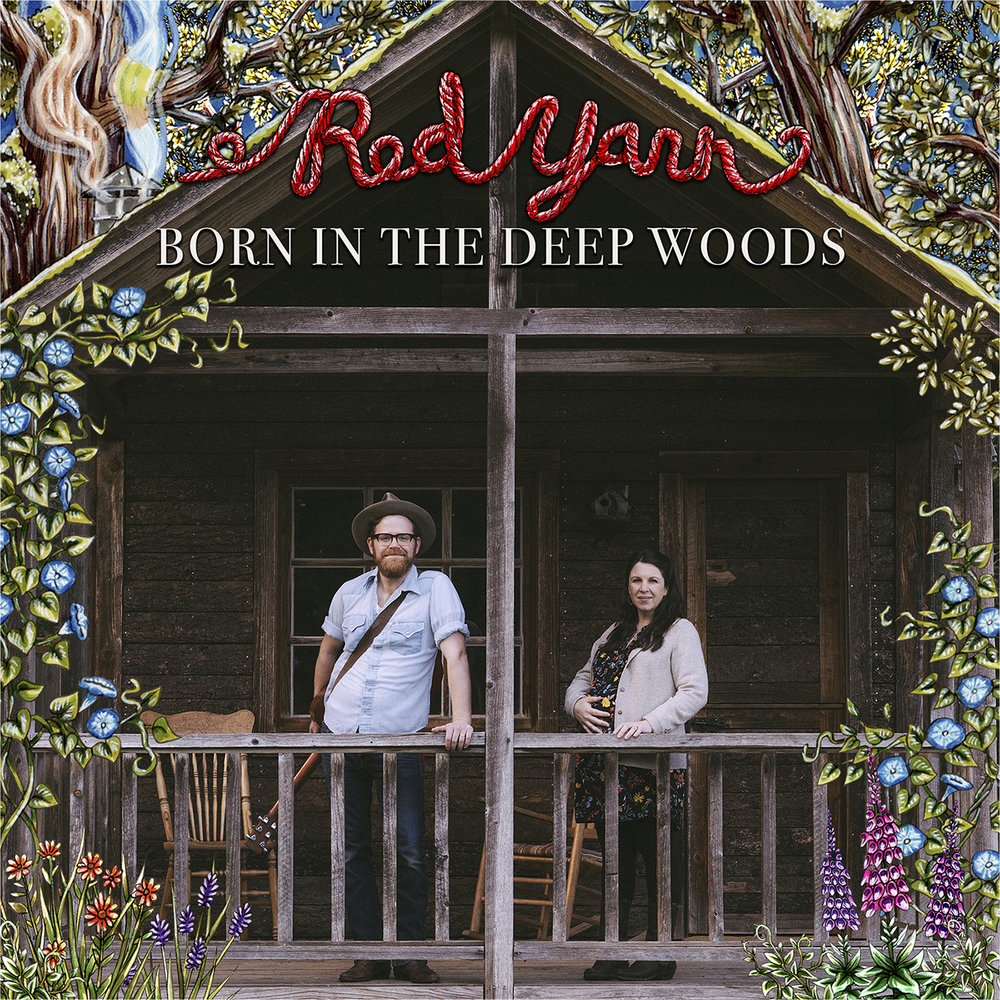 Red Yarn, Born in the Deep Woods album cover