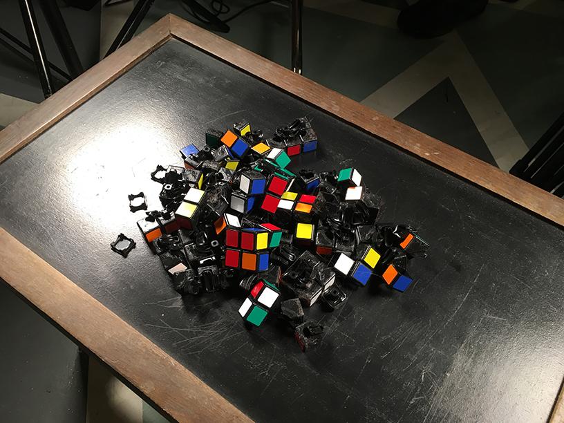 Rubix Cube Explosion