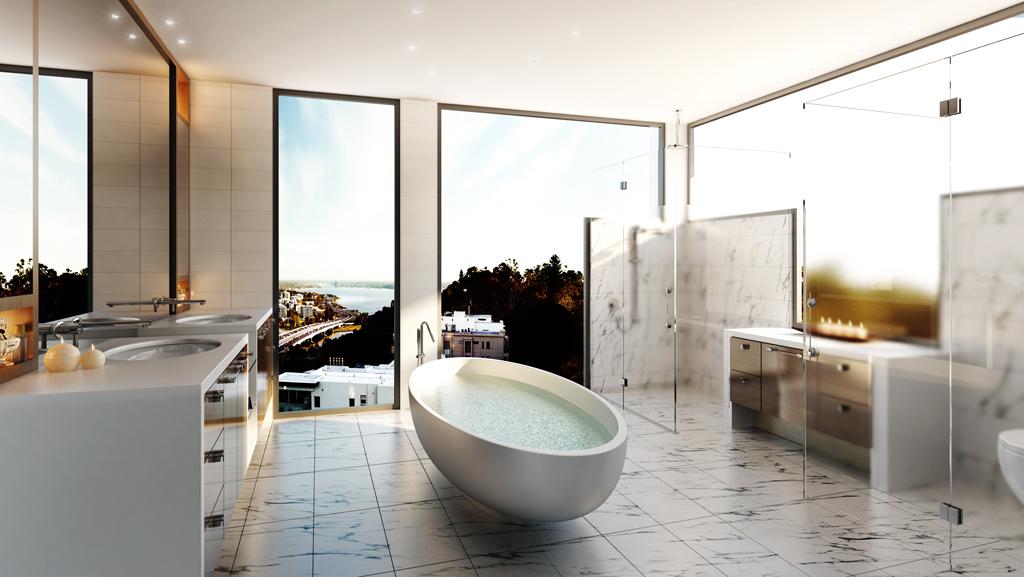 the bellevue en suite dave goliath. Black Bedroom Furniture Sets. Home Design Ideas
