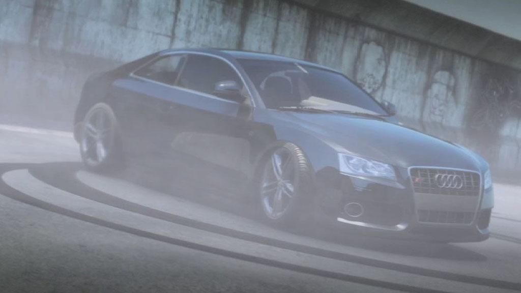 Audi S5 Burnout Image