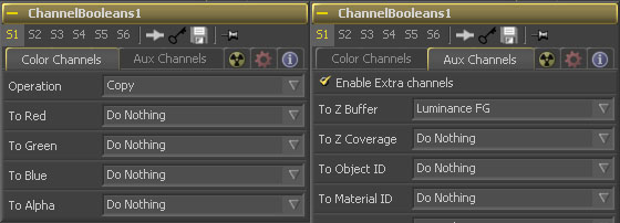 Channel Booleans Setup