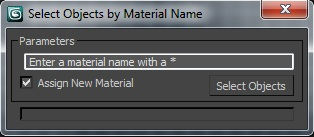 Select Objects By Material Name
