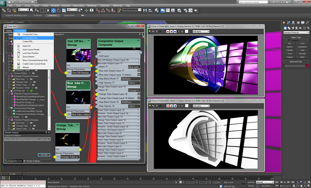 3ds Max 2012 Render Passes/State Sets
