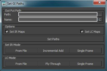 V-Ray Set GI Paths