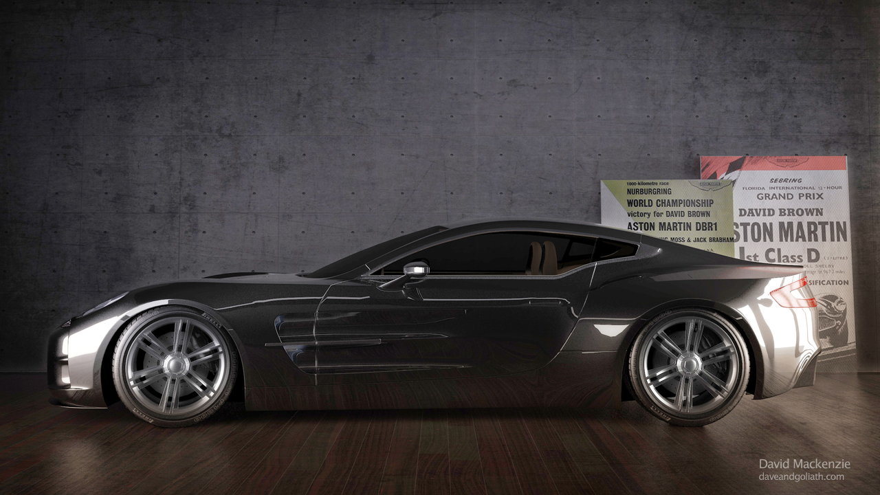 Aston Martin One 77 Studio