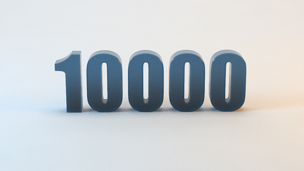10000 Downloads!