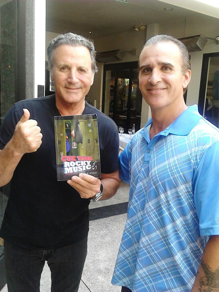 Frank Stallone and my Friend, Claude with CTRM!
