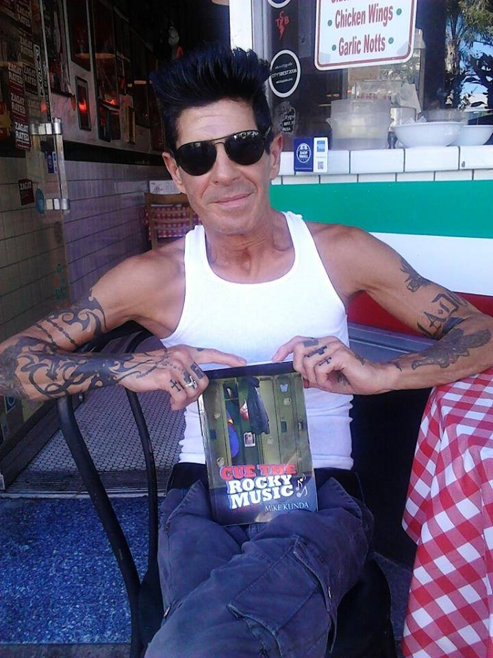 Giuseppe Franco, Sly's hairstylistfor years was kind enough to sit and chat about my book.