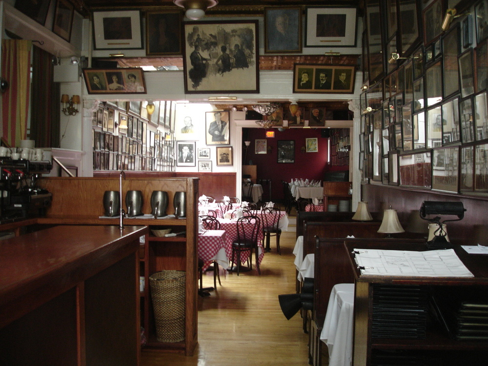 The Victor Café was used to film all interior scenes of Adrian's.
