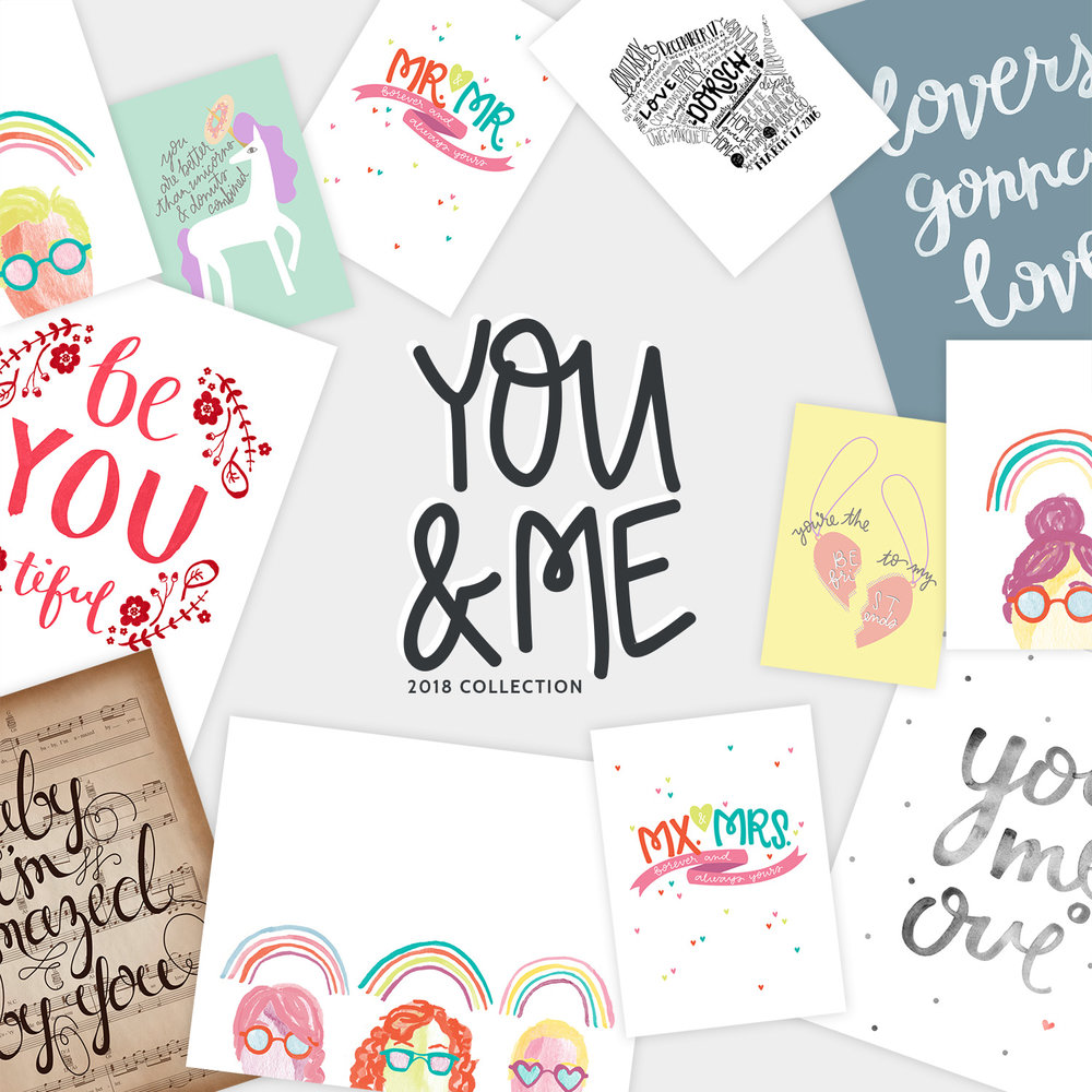 send your besties, your family, and your significant others messages of love and pride with this collection.