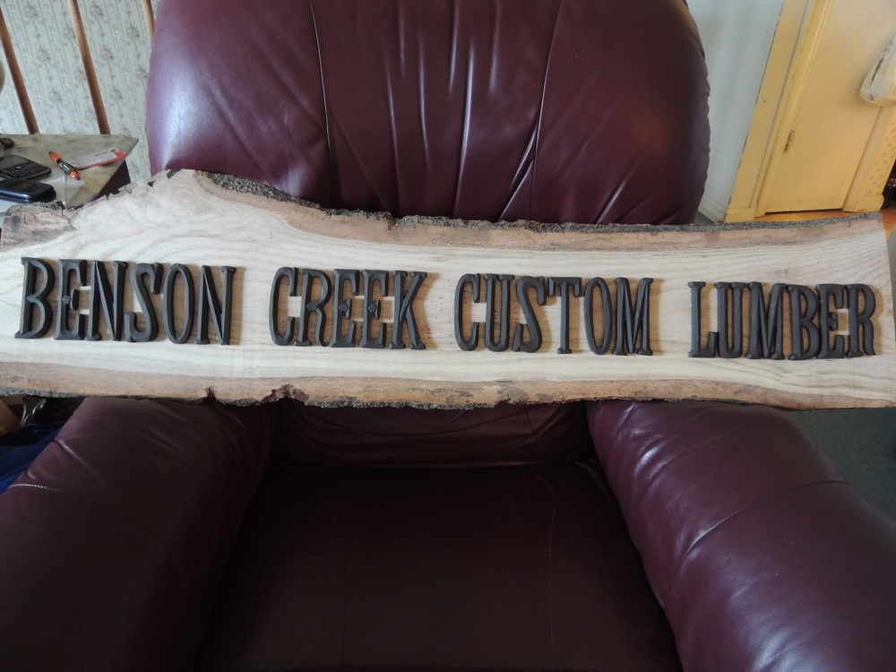 Wooden Sign - prices vary depending on size and number of letters. Letters can be in color of your choosing.