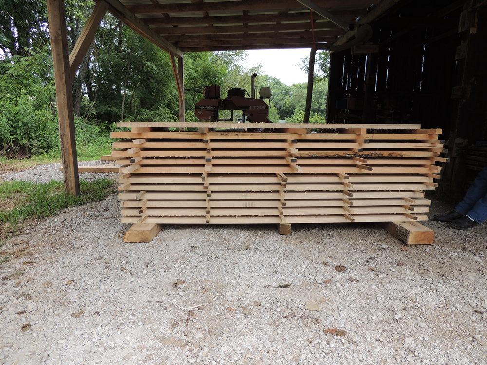 Rough-cut Lumber