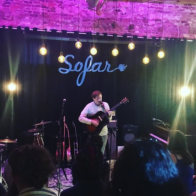 Hosting some fine musicians at my home/studio for this month's @sofarsounds @sofaratl