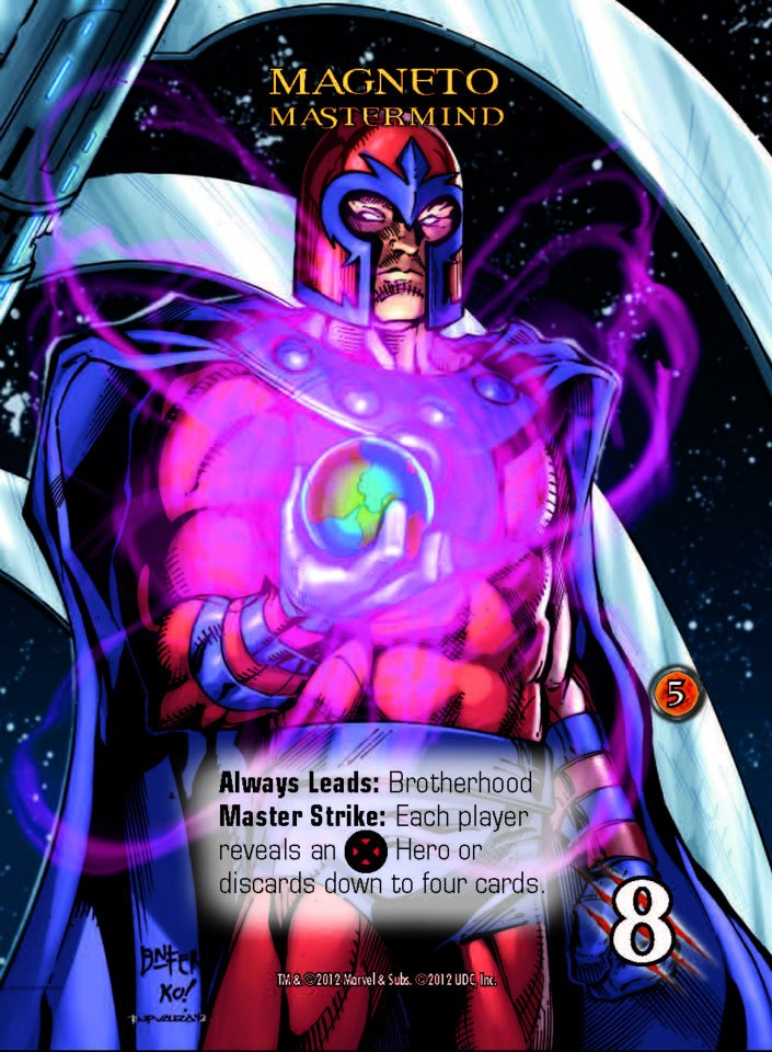 Marvel Legendary - Magneto