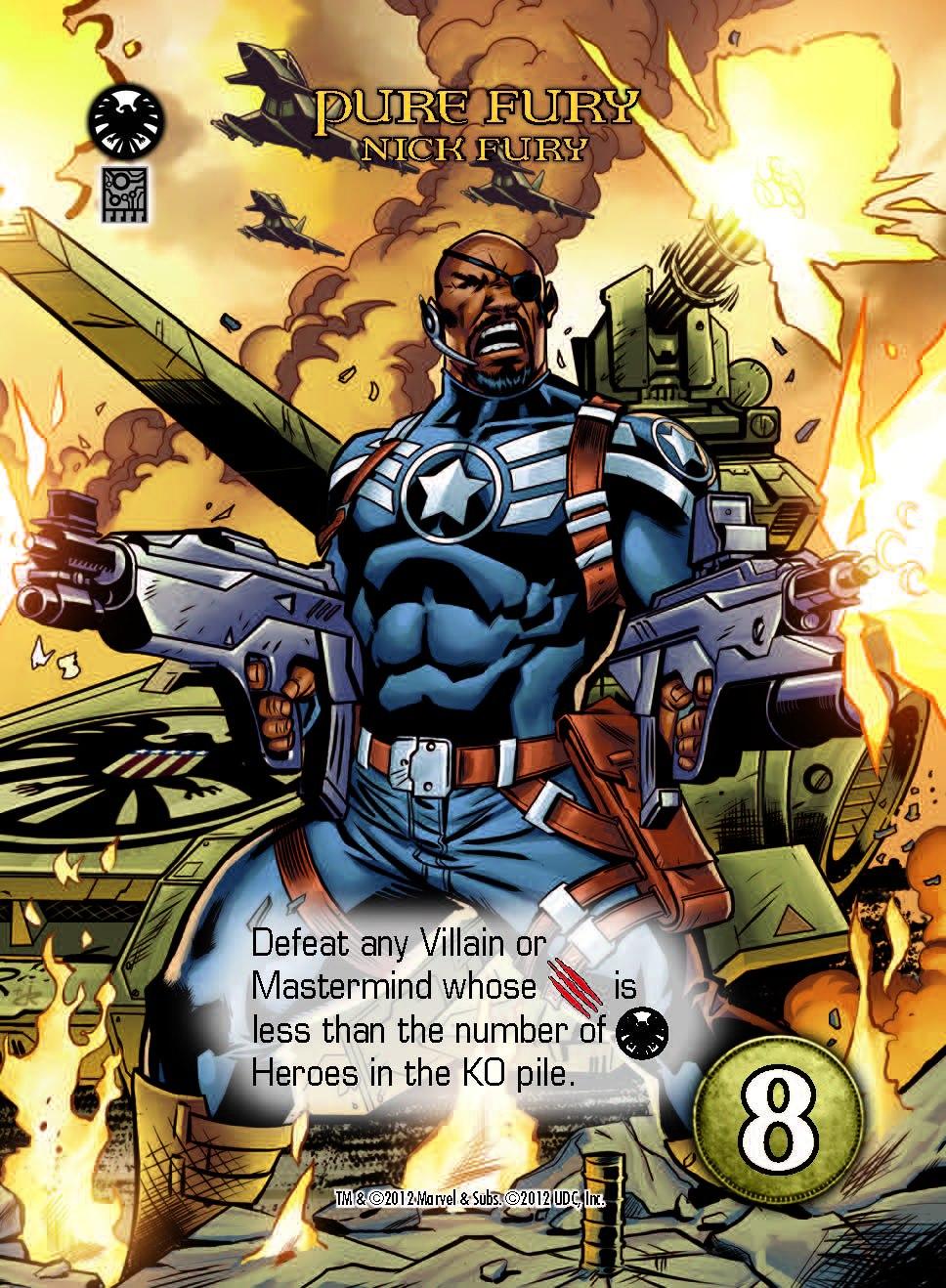 Marvel Legendary - Nick Fury