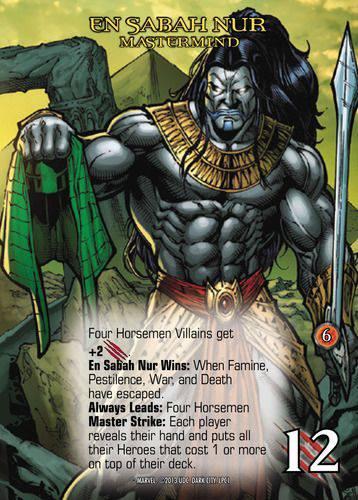 Marvel Legendary - Card