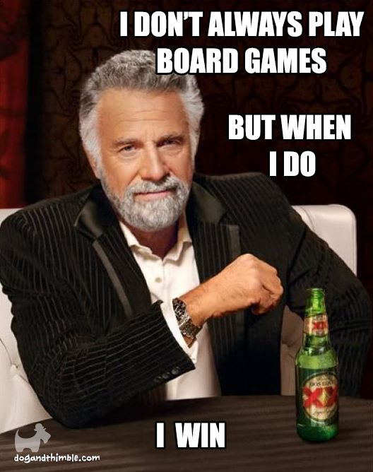 I win board game meme