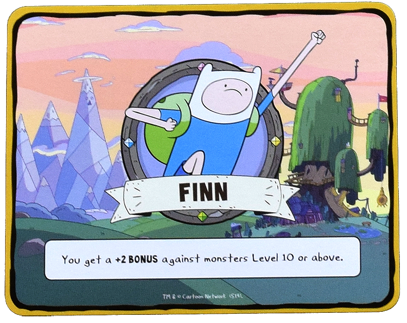 Character Card for Finn the Human