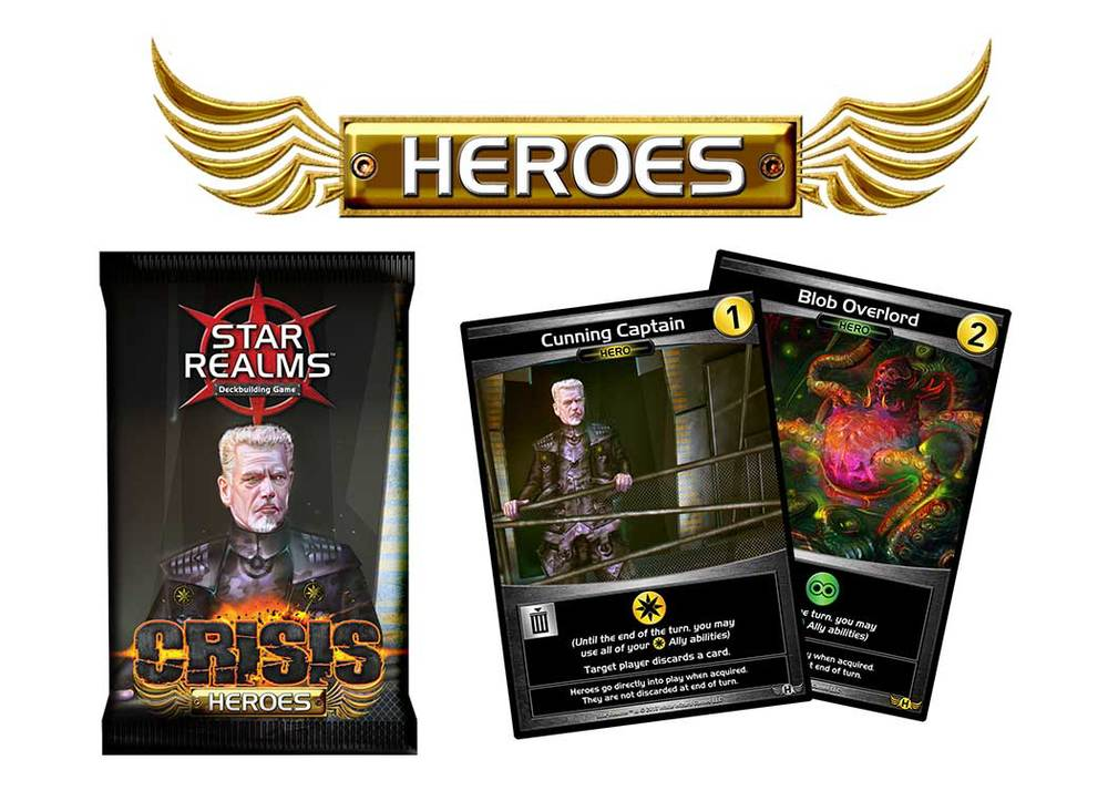Star Realms Heroes Expansion