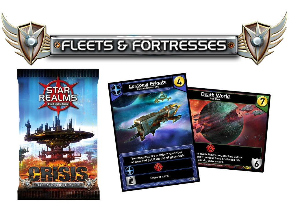 Star Realms Fleets & Fortresses Expansion