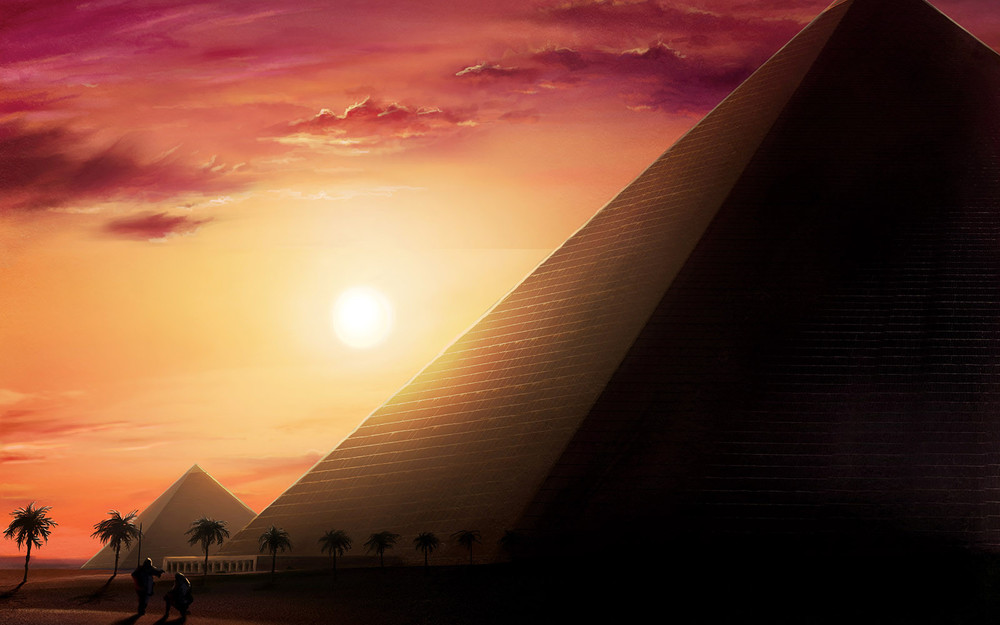 Bezier Games' mystery title. The Pyramids of Mad Pharaoh Tutankhamun?