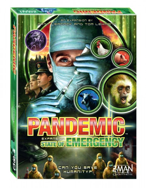 Official box art for Pandemic: State of Emergency