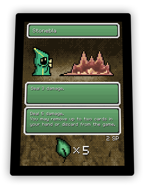 Pixel Glory card - Stonebla