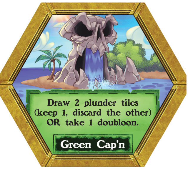 Dark Seas - Green Cap'n