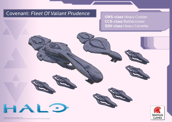 Halo minis - Covenant forces