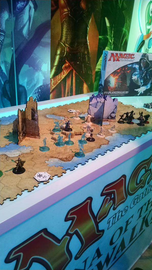 Arena of the Planeswalkers at Toyfair - via @Hasbro