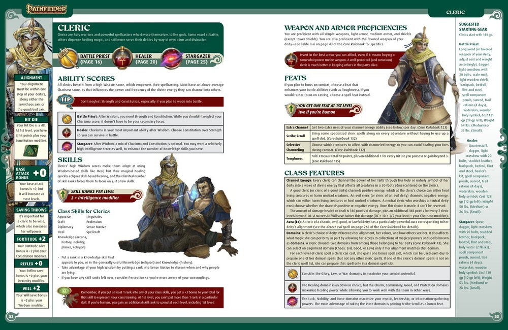 A look inside the Pathfinder Strategy Guide.