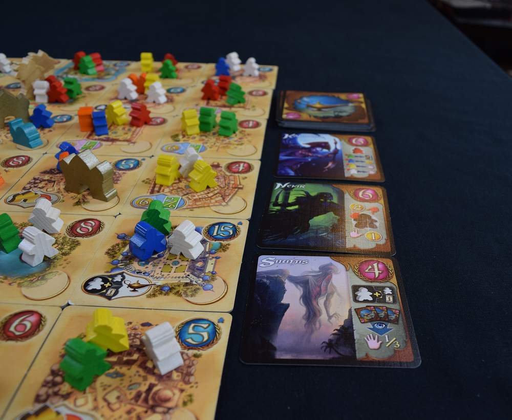 Five Tribes - Djinn Row