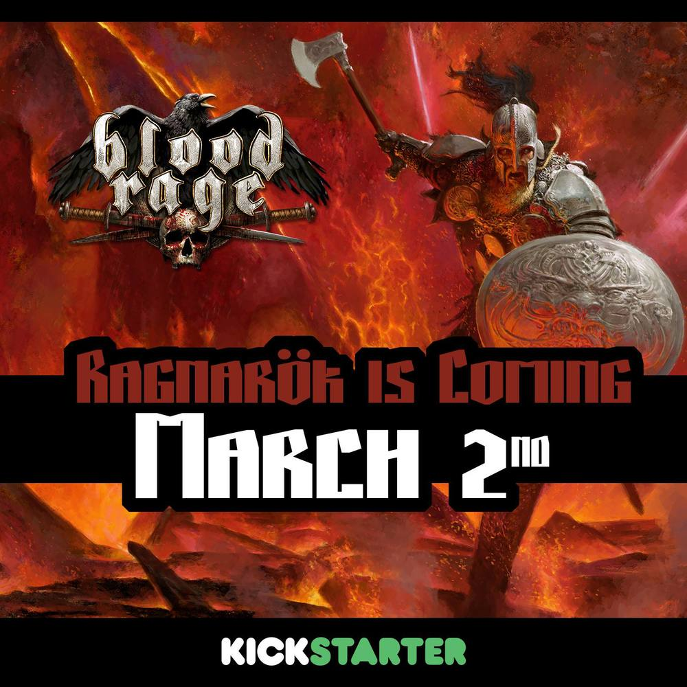 Blood Rage announced.