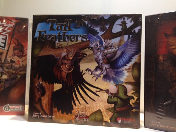Tail Feathers box art.