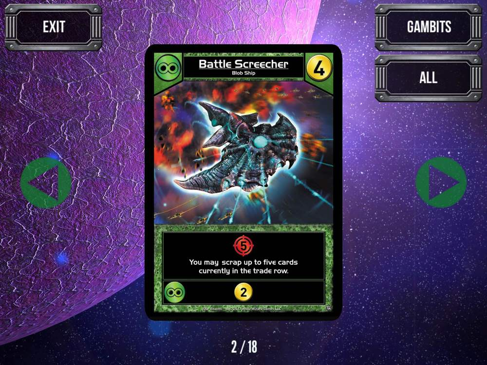 Star Realms Gambit Ship